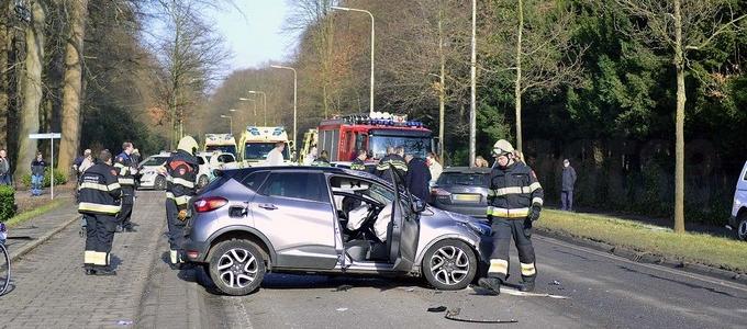 Ongeval met gewonden in Heemstede