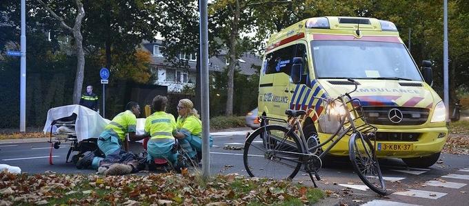 Gewond na ongeval met fiets/auto