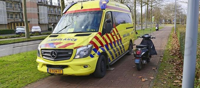 Fietser gewond na ongeval in Hoofddorp