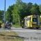 Fietser gewond bij aanrijding rotonde Venneperweg