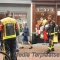 Gaslucht in winkelstraat Leiden