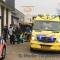 Motorrijdster zwaargewond tijdens rijles