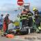 Motorrijder zwaargewond in Cruquius