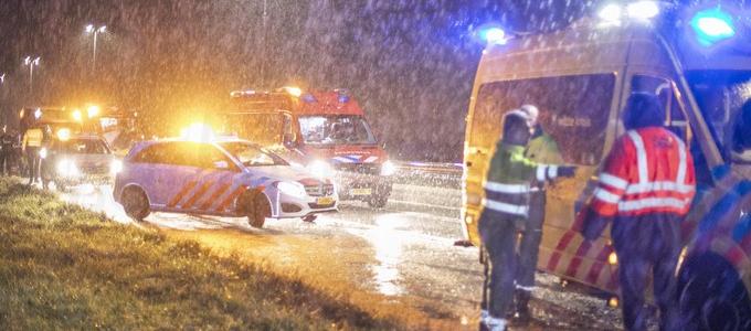drie ongelukken  vrijwel gelijktijdig