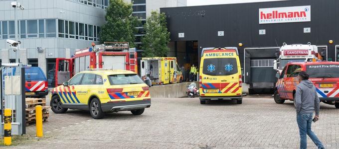 Werknemer ernstig gewond bij bedrijf