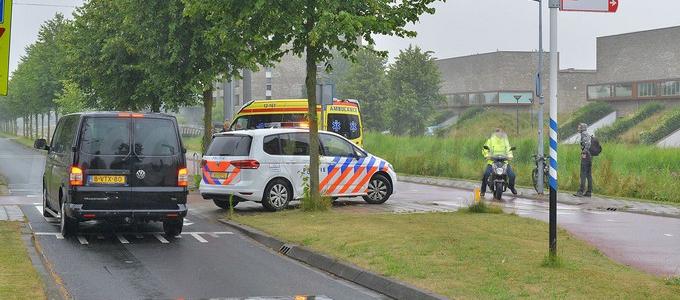 Fietser aangereden op oversteekplaats Waddenweg