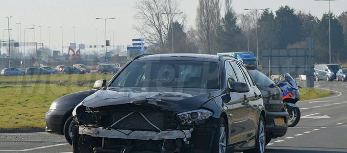 Ongeval Europaweg loopt goed af