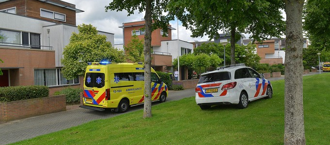 Traumaheli inzet nodig in park