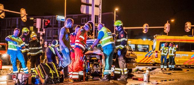 Twee zwaargewonden in Beverwijk na ongeval