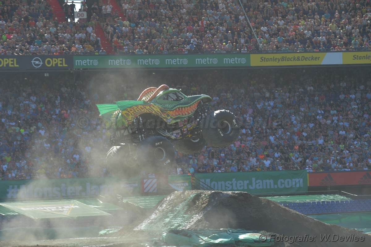 Mediaterplaatse Monsterjam Rotterdam 30062018 Image00033